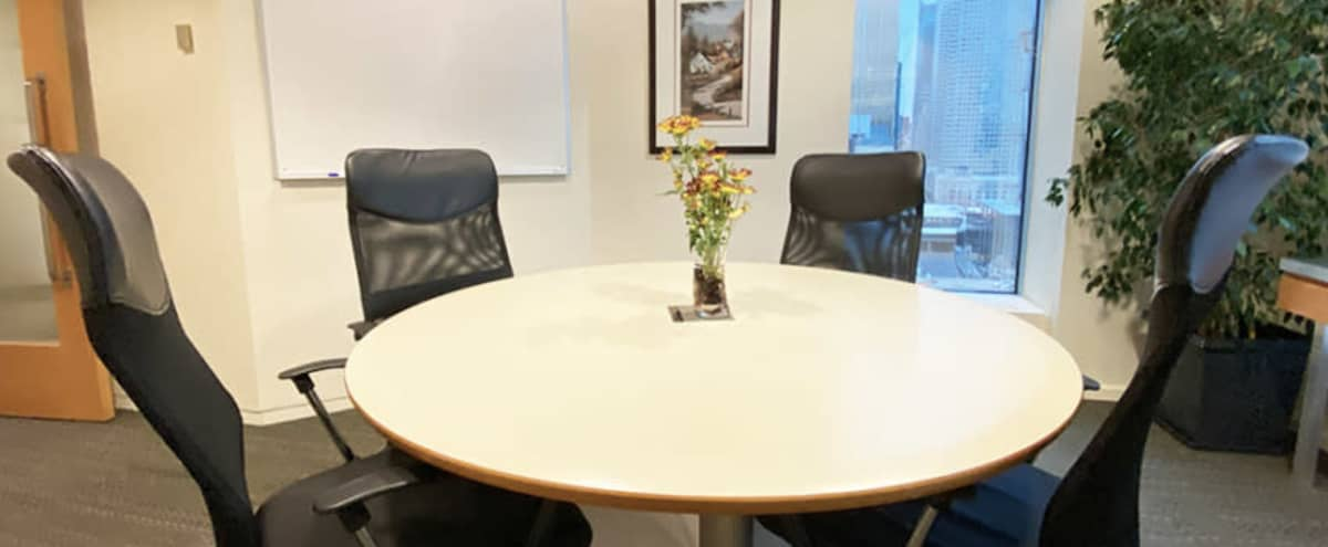 5-Person Meeting Room | Caspian in Toronto Hero Image in South Core, Toronto, ON