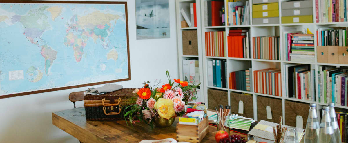 Colorful Meeting Space With Eclectic Vintage Style in San Francisco Hero Image in Potrero Hill, San Francisco, CA