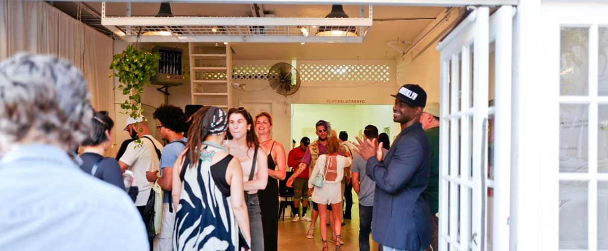 Stunning retail + gallery in Williamsburg in Brooklyn Hero Image in Williamsburg, Brooklyn, NY