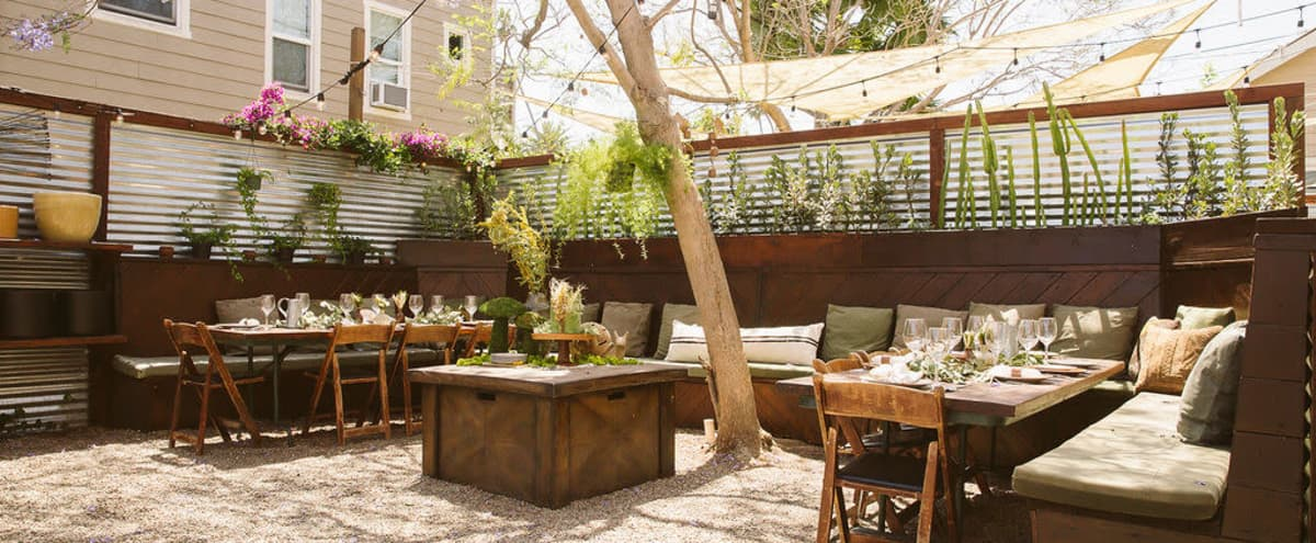 Beautiful Private Outdoor Garden Space in Long Beach Hero Image in 4th Street Corridor, Long Beach, CA