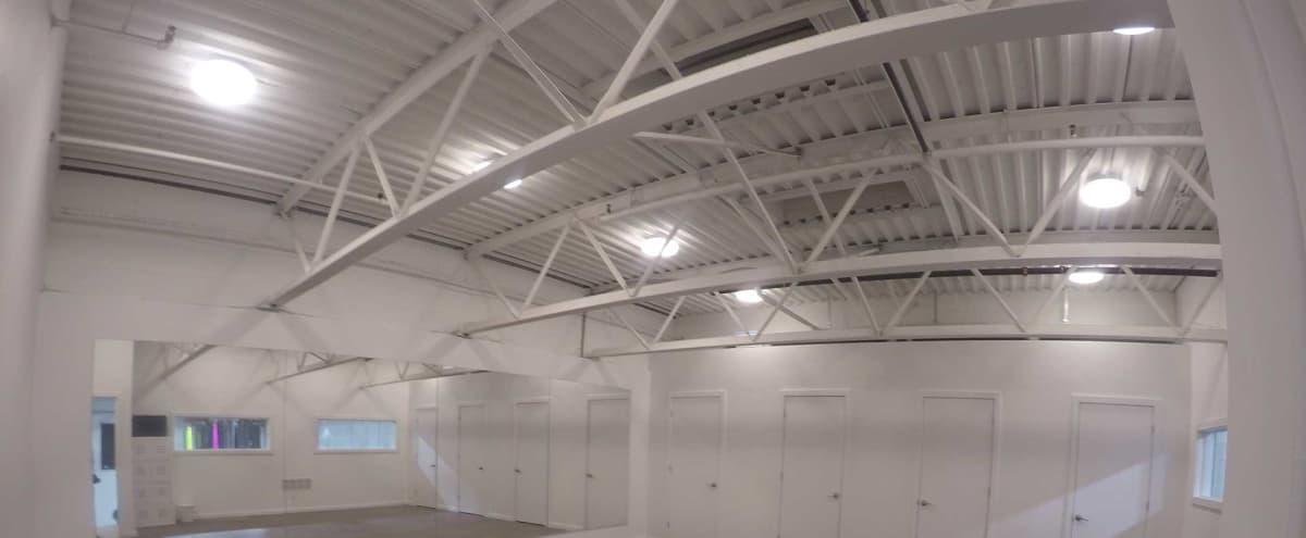 White Box Dance Studio for Classes & Rehearsals in Toronto Hero Image in Port Lands, Toronto, ON