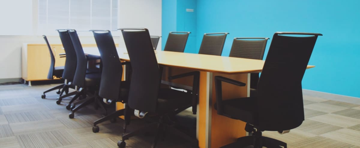 Spacious 12 Person Conference Room w/ Natural Light in San Mateo Hero Image in East San Mateo, San Mateo, CA