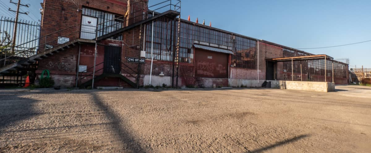 Private Warehouse Lot with Amazing Exteriors in Los Angeles Hero Image in South Los Angeles, Los Angeles, CA