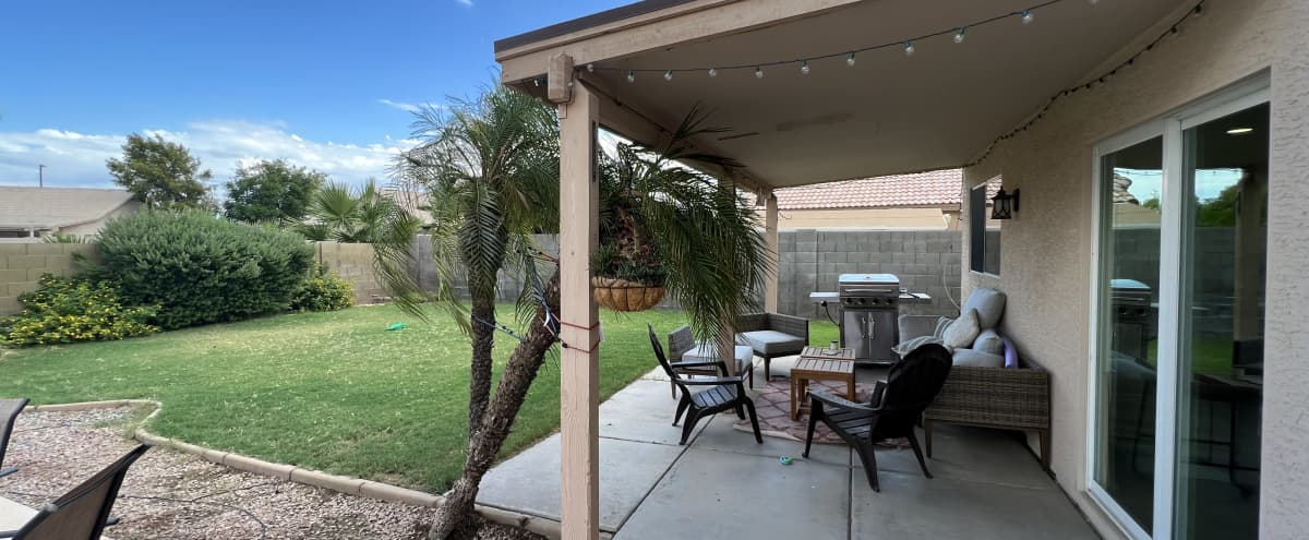 Suburban Gilbert Home w/ Nice Backyard + Pool in GILBERT Hero Image in Highland Corner, GILBERT, AZ