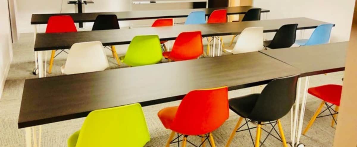 Creative Classroom Meeting Space | Mag Mile in Chicago Hero Image in Magnificent Mile, Chicago, IL