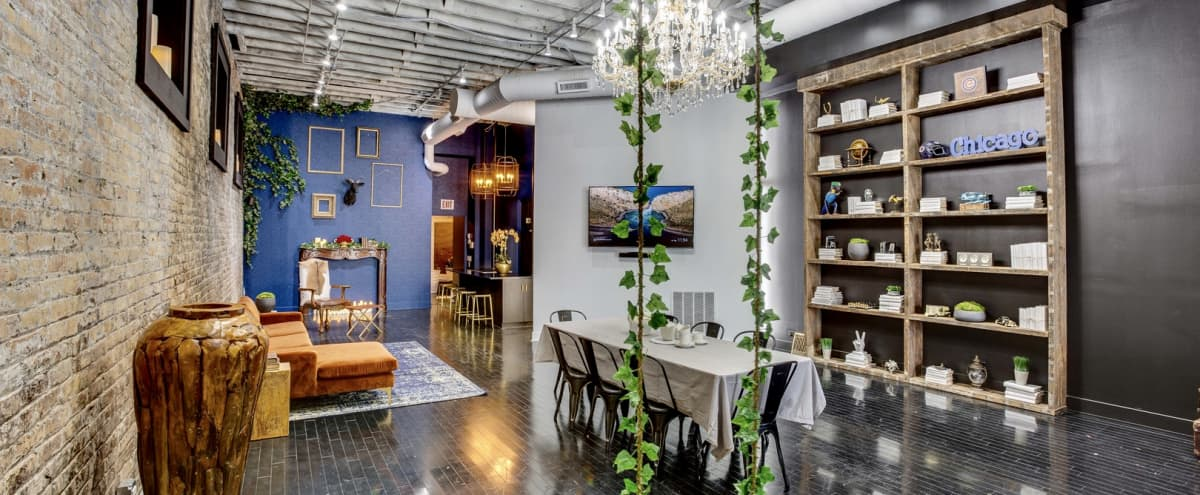 Ginormous Versatile Loft in Trendy River West | **Special Intro Rate** in Chicago Hero Image in River West, Chicago, IL