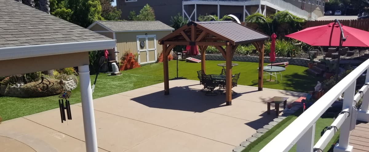 Spacious & Fun Backyard in Martinez Hero Image in undefined, Martinez, CA