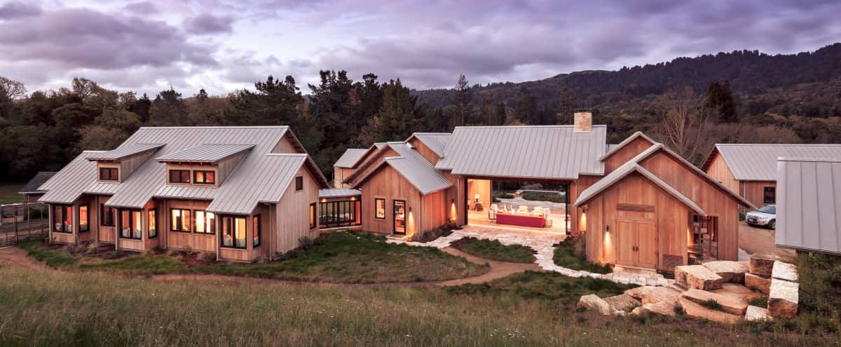 Beautiful LEED certified dream home in the hills of Portola Valley: Rated greenest custom home in America in Portola Valley Hero Image in Westridge, Portola Valley, CA