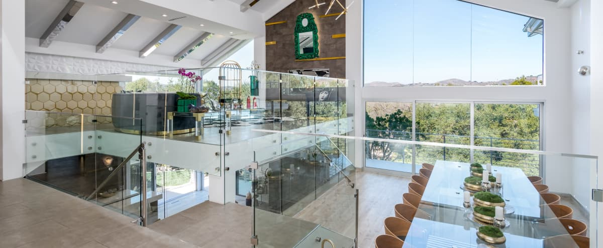 The Contemporary Glass Mansion, Zen Resort-Like Backyard, Endless Views, Movie Theater, Boutique Hotel Style Bars & Modern Outdoor Lounges in Westlake Village Hero Image in undefined, Westlake Village, CA