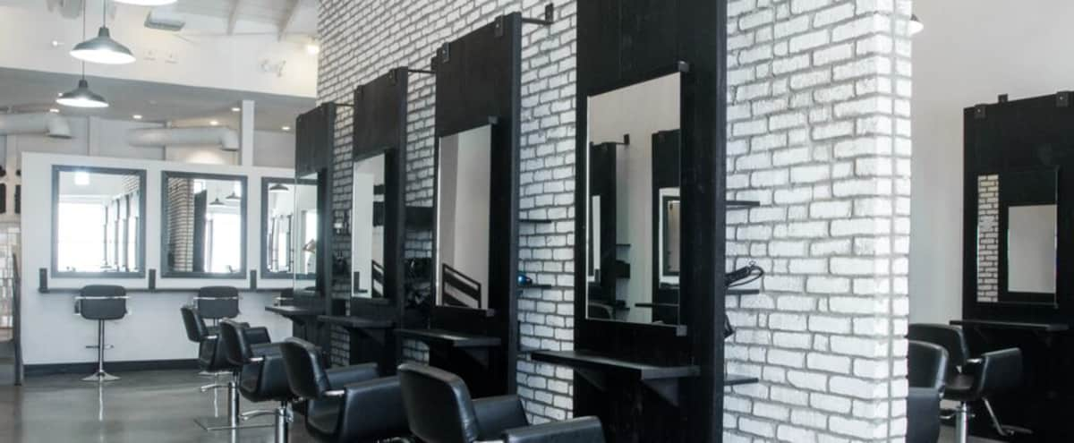 Modern Industrial Salon | High Ceilings | Great Lighting in West Hollywood Hero Image in Melrose, West Hollywood, CA