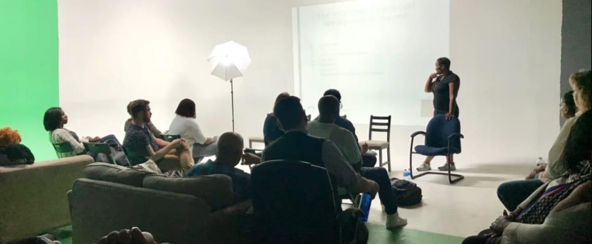 Presentation with Cyc Wall in Multi-Functional Studio - Dallas in Dallas Hero Image in Loryland, Dallas, TX