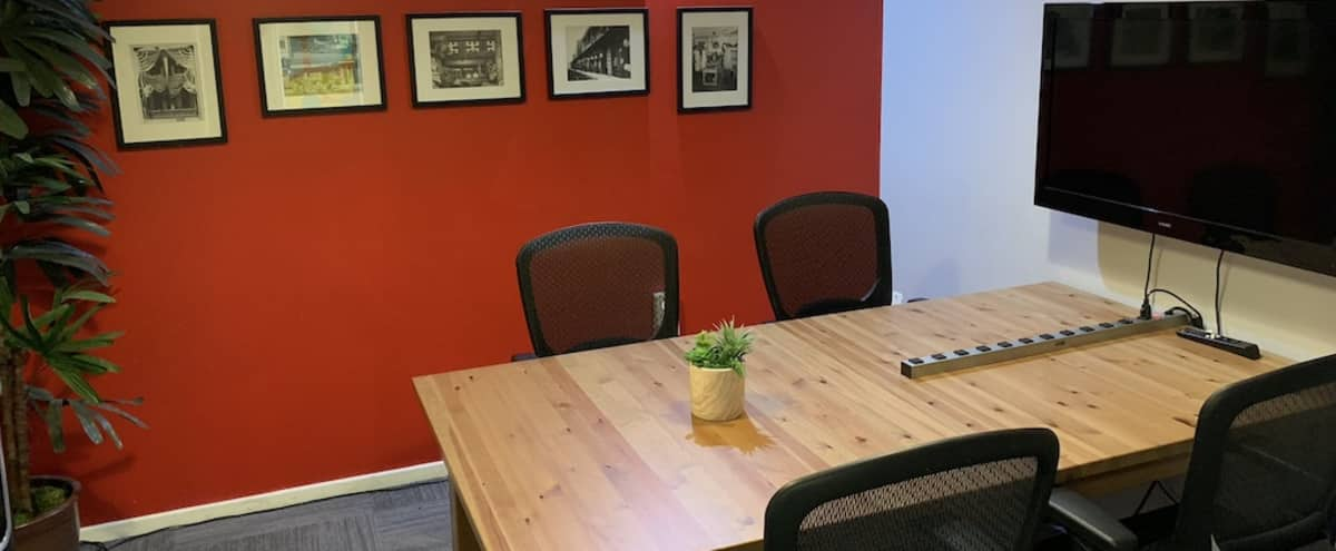 Small Conference Room in Los Angeles Hero Image in Central LA, Los Angeles, CA
