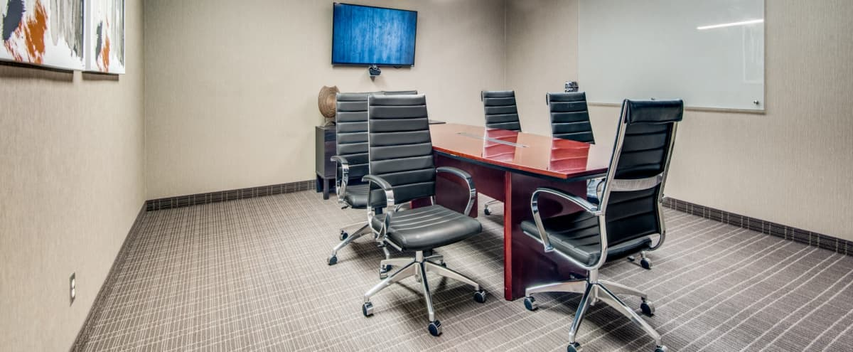 Professional Meeting Room - Video Conferencing - 6 People in Irving Hero Image in Las Colinas, Irving, TX