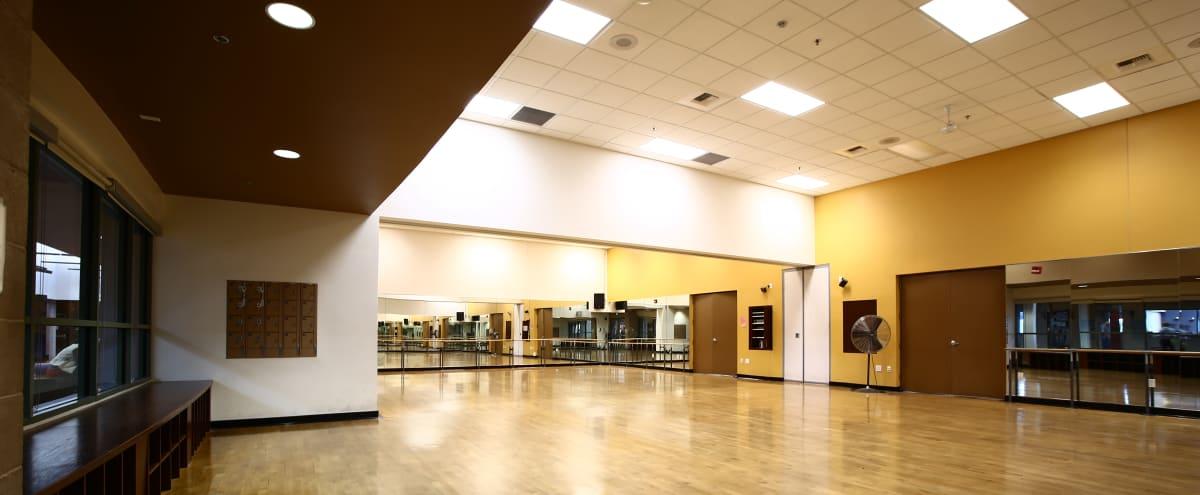 Aerobic/Fitness Studio with Floor to Ceiling Mirrors in Las Vegas Hero Image in Downtown Las Vegas, Las Vegas, NV