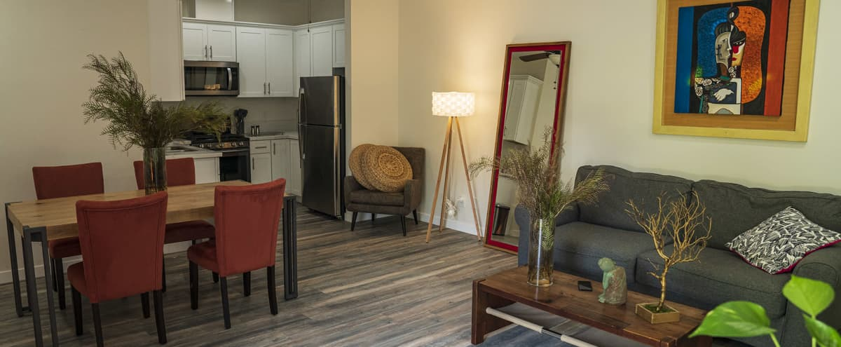 Big One Bedroom Guest Suite in Pasadena in Pasadena Hero Image in Madison Heights, Pasadena, CA