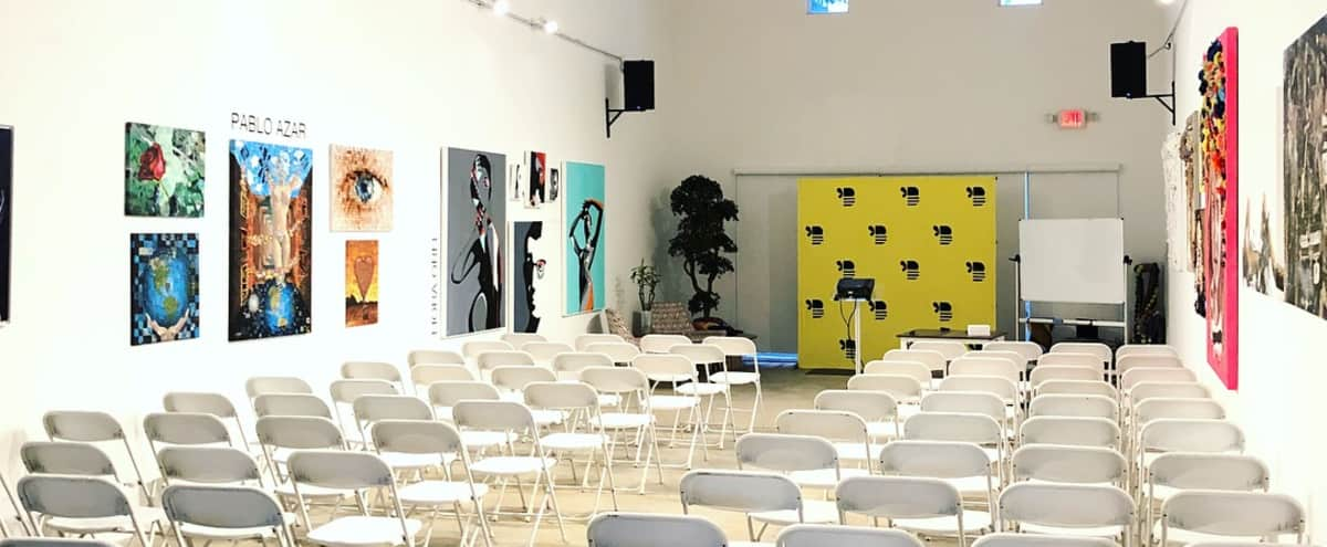 Versatile Lounge Great for Workshops in Miami Hero Image in undefined, Miami, FL