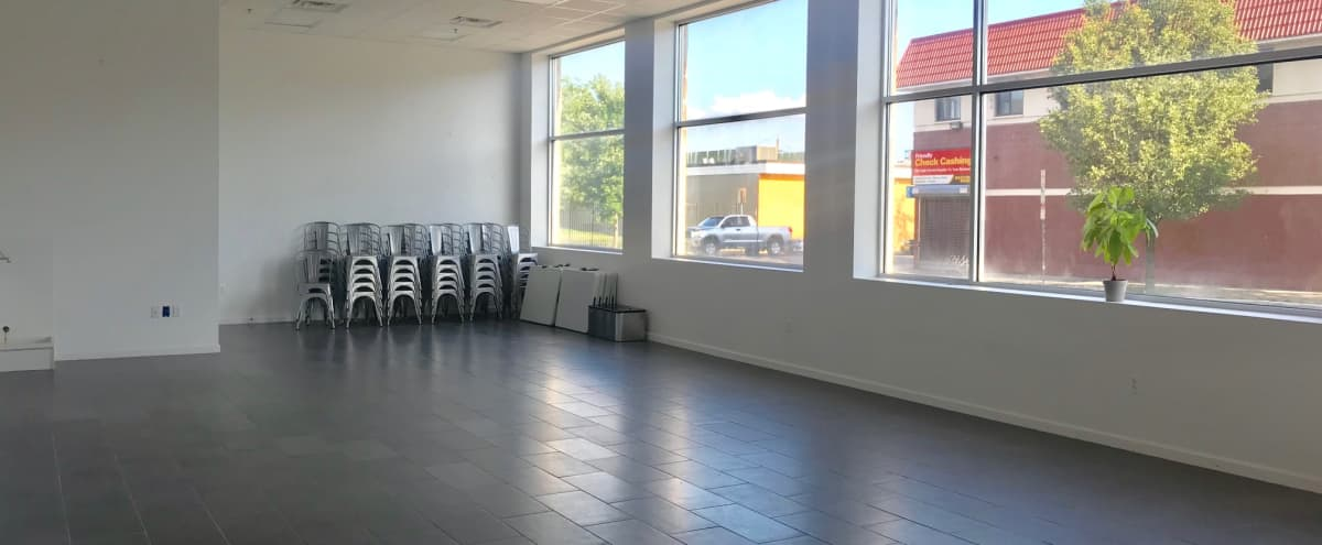 1,250 sq ft / Modern Open Layout Event Space in Newark Hero Image in Mount Pleasant/Lower Broadway, Newark, NJ