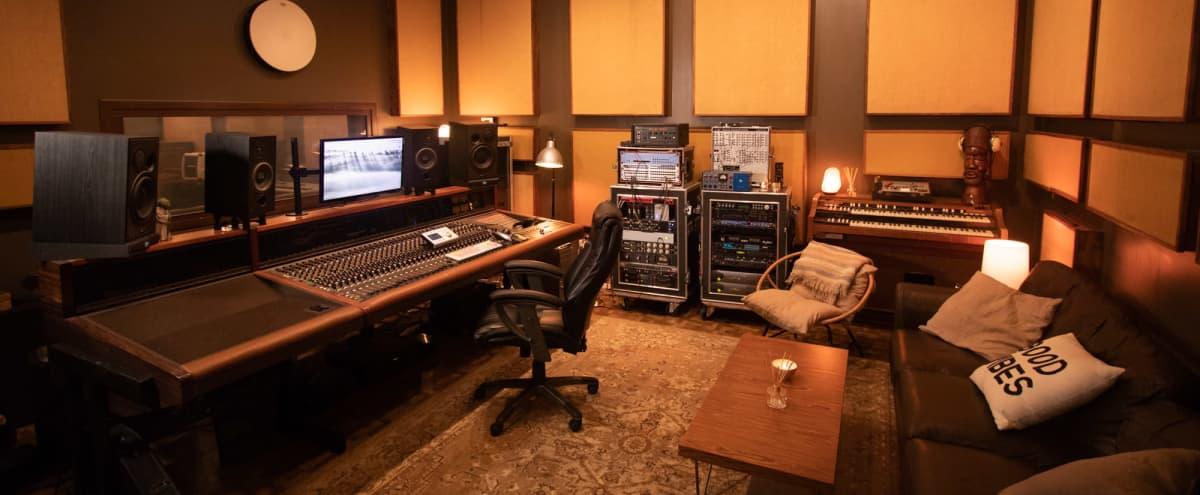 Vintage Recording Studio w/ Grand Piano and Hammond B3 in Los Angeles Hero Image in Northridge, Los Angeles, CA