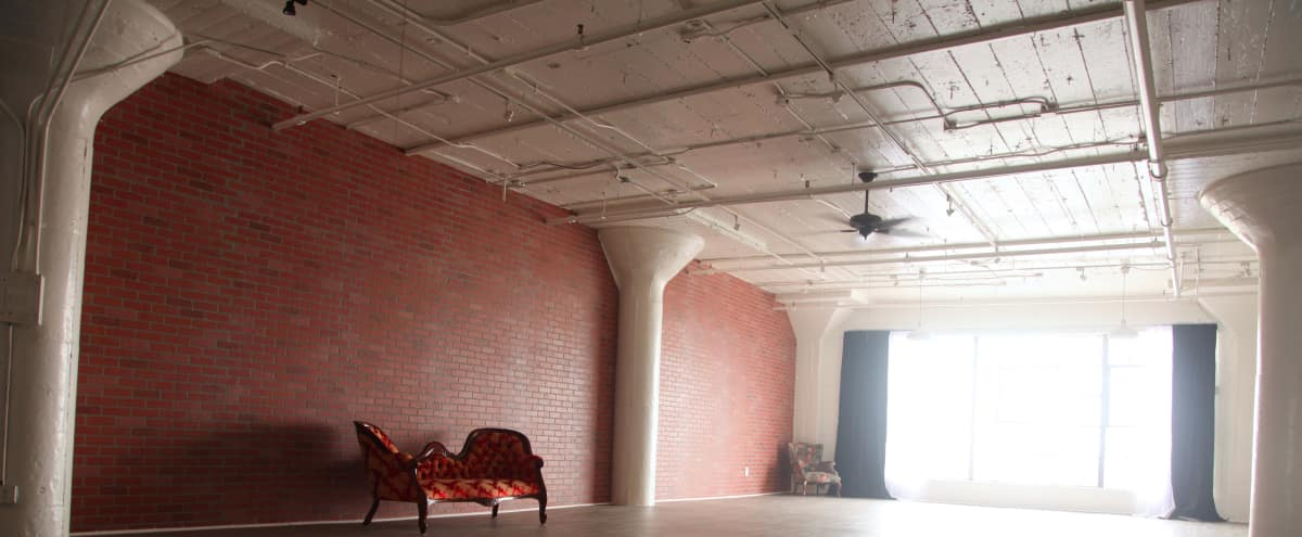 Brick Walls & Rustic Wood Floors in the Heart of DTLA in Los Angeles Hero Image in Downtown, Los Angeles, CA
