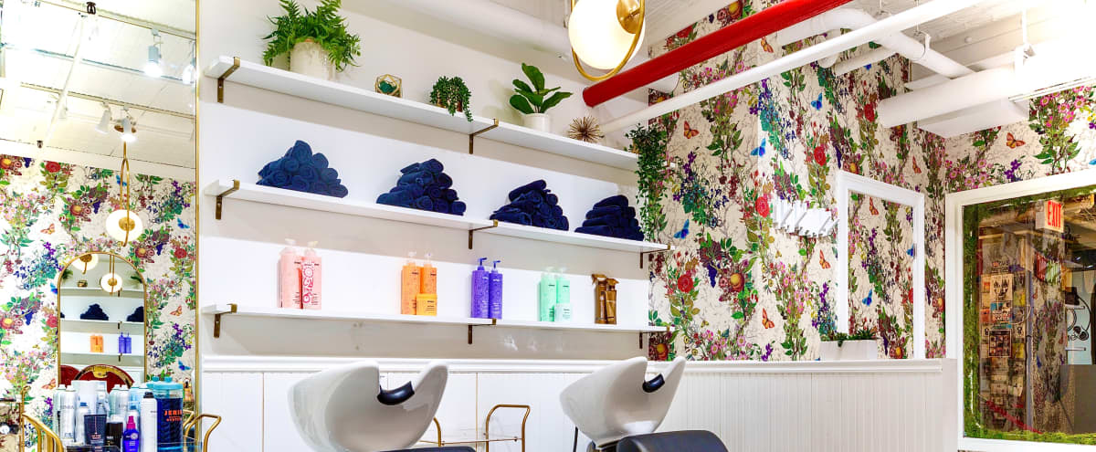 Gorgeous Modern Beauty Salon in Brooklyn Hero Image in Williamsburg, Brooklyn, NY