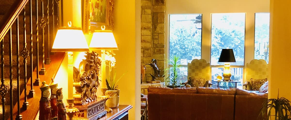 Hill Country Home With Greenbelt & Pool in Austin Hero Image in Highpointe, Austin, TX