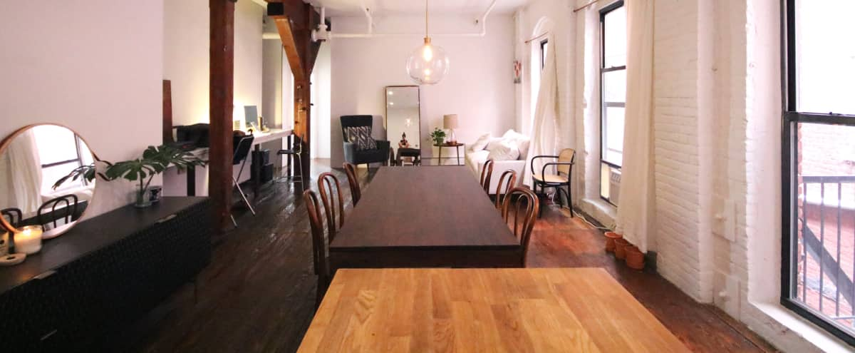 Large Brooklyn Loft Perfect for Photo Shoots, Rehearsals, Meetings or Events in brooklyn Hero Image in Red Hook, brooklyn, NY