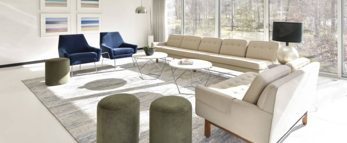 Mid Century Glass House in Armonk Hero Image in undefined, Armonk, NY