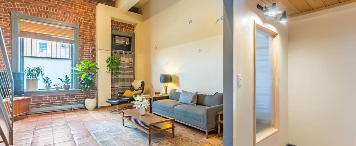 Paris Loft: Modern & Cozy Gem | Perfect for Intimate & Corporate Events in Denver Hero Image in Ballpark, Denver, CO