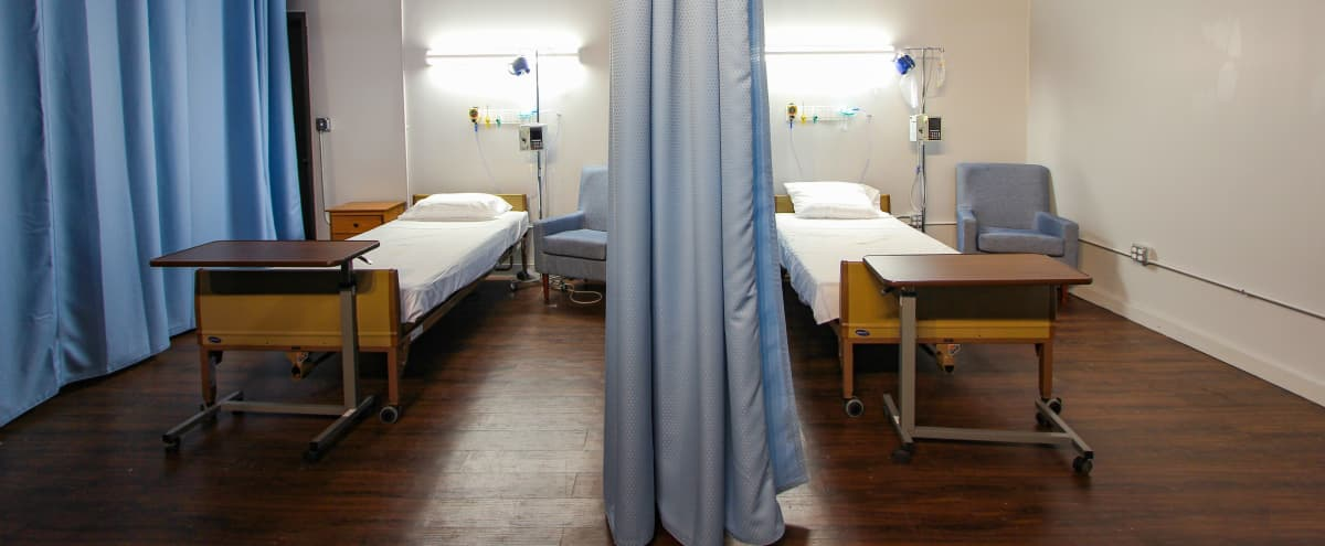 Staged Modern Hospital Room in Dumbo in Brooklyn Hero Image in Downtown Brooklyn, Brooklyn, NY