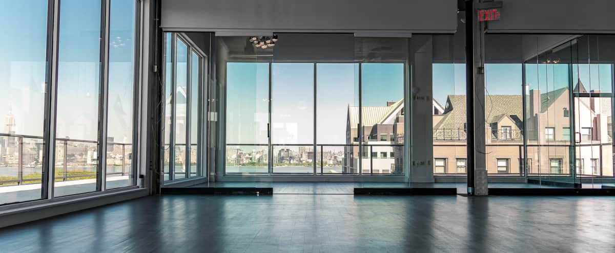 Hoboken Loft with Panoramic Views of Manhattan Skyline in Hoboken Hero Image in undefined, Hoboken, NJ