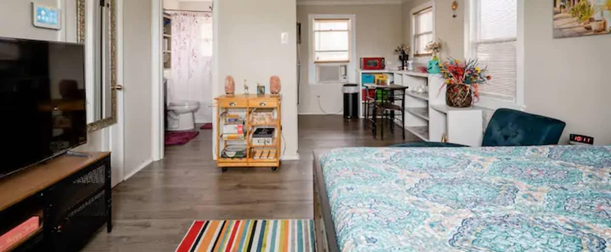 Small Studio Apt Downtown/Montrose/Midtown in Houston Hero Image in Montrose, Houston, TX