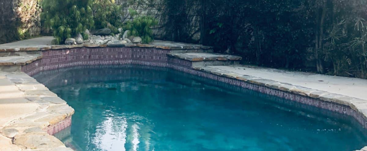 Cozy Sanctuary Home , with great natural  light and  tranquil backyard featuring heated, salt water pool. in Tarzana Hero Image in Tarzana, Tarzana, CA