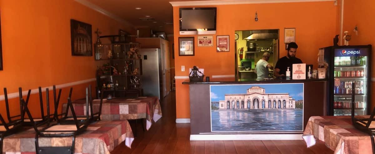 Ethnic Restaurant with Orange Walls in North Hollywood Hero Image in North Hollywood, North Hollywood, CA