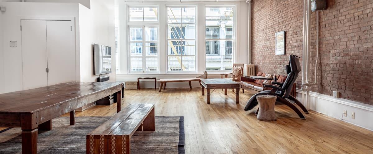 Prime SoHo Clean Luxury Loft Off-Site/Meeting Space in New York Hero Image in Lower Manhattan, New York, NY
