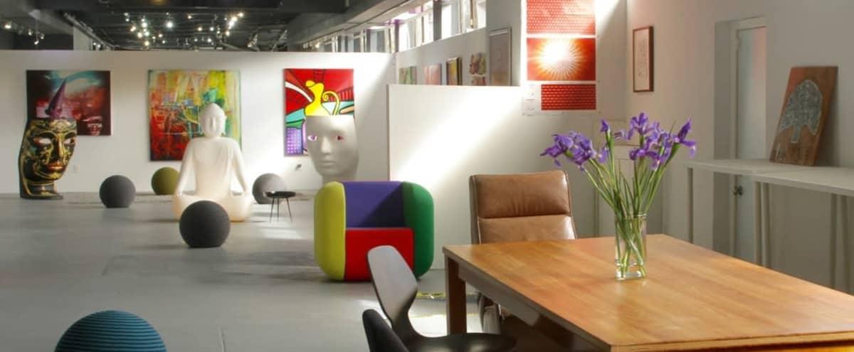 Industrial Style Art Studio in San Francisco Hero Image in SoMa, San Francisco, CA