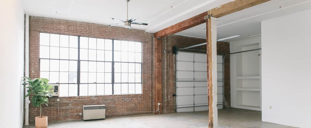 Open Floor Plan Industrial Loft with Natural Light in DTLA in Los Angeles Hero Image in Central LA, Los Angeles, CA