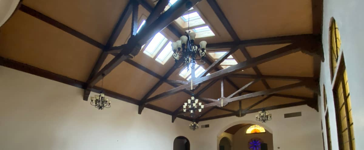Captivating Event Studio with Vaulted Ceilings and Abundant Natural Lighting. *Optional stage and access to speakers. in Oakland Hero Image in Mosswood, Oakland, AZ