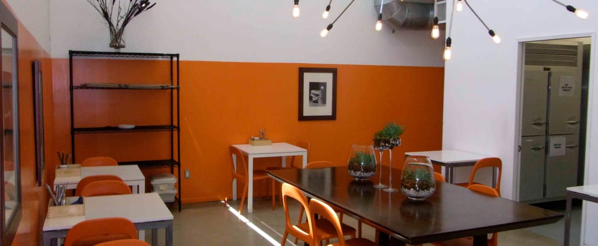 Contemporary Commercial Kitchen-Cafe and Loft Space Available February- October 2018 in Van Nuys Hero Image in Van Nuys, Van Nuys, CA
