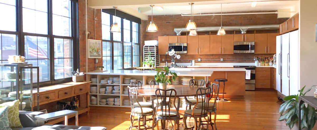 Stunning Spacious Two Studio Loft with Kitchen in Port Chester Hero Image in undefined, Port Chester, NY