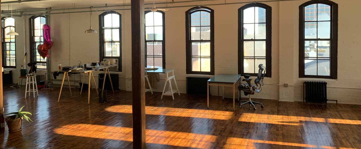 Sun filled Spacious Loft in Newark Hero Image in North Ironbound, Newark, NJ