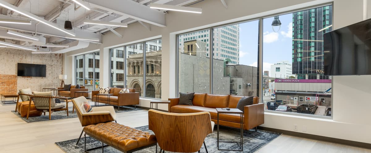 Professional Event Space With City Views in Detroit Hero Image in Downtown Detroit, Detroit, MI
