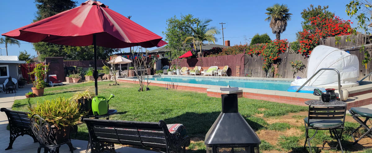 Outdoor Oasis in Gardena Hero Image in Harbor Gateway North, Gardena, CA