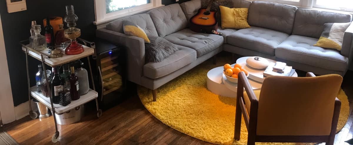 Cozy Laurel Canyon Style Bungalow with a 70s Music Twist