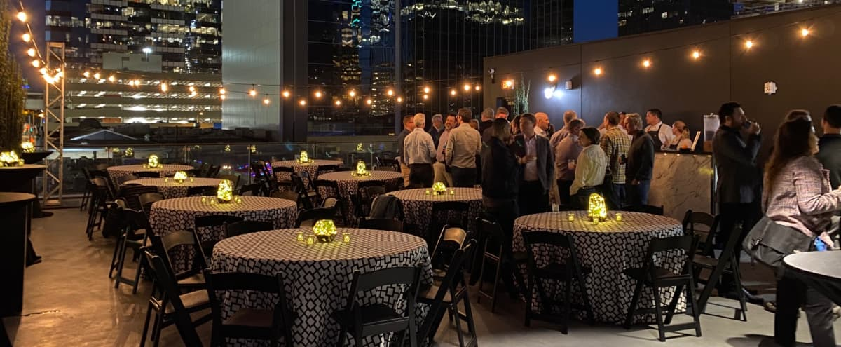 Contemporary Downtown Event Hall with Rooftop Skyline View in Austin Hero Image in Downtown Austin, Austin, TX