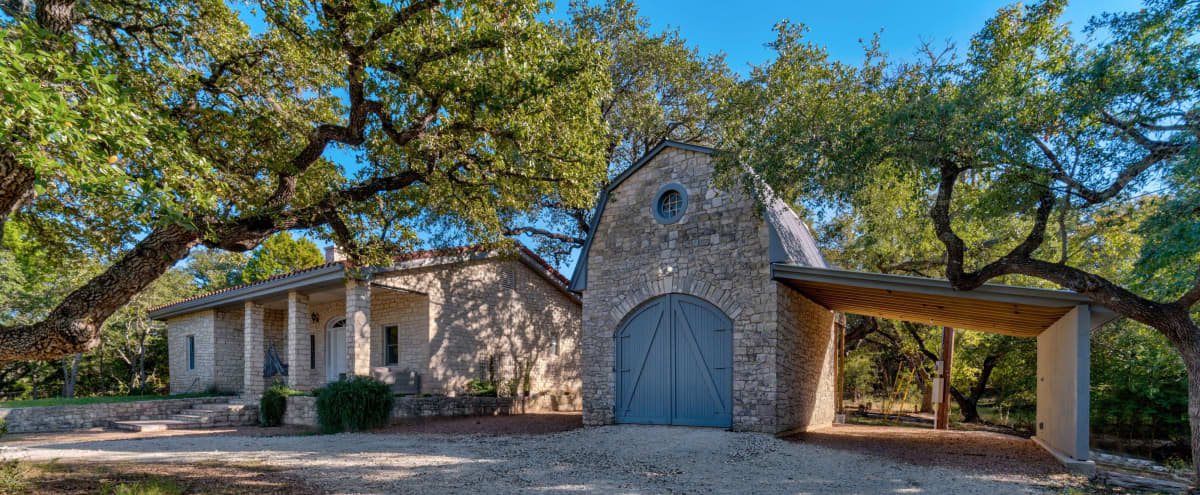 French Country Cottage with Barn and Acreage in Dripping Springs Hero Image in undefined, Dripping Springs, TX