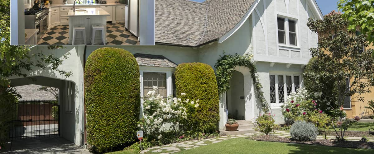 Eclectic Old L.A. House & Tropical Garden in Los Angeles Hero Image in Mid-Wilshire, Los Angeles, CA