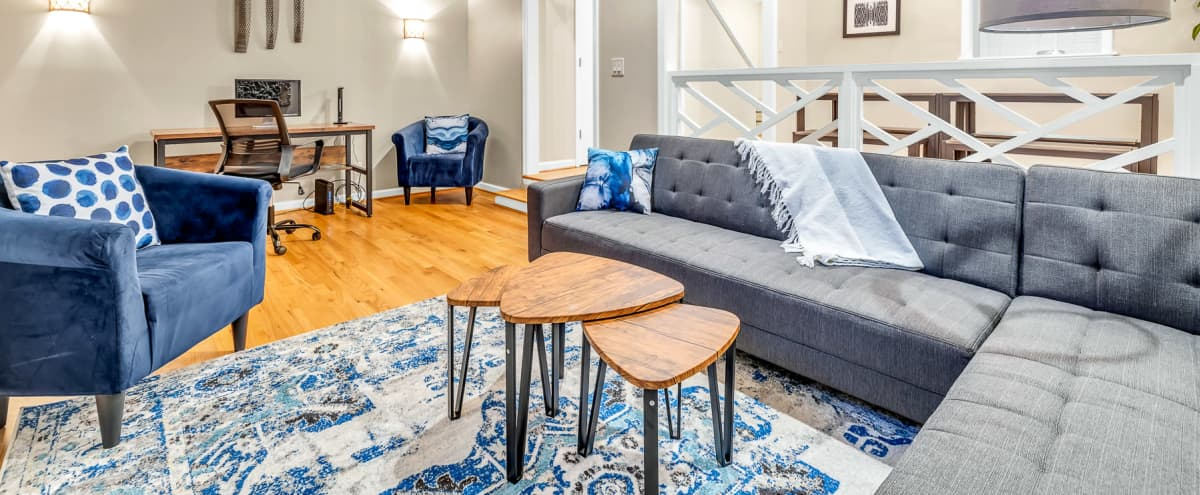 Midtown Townhome Professionally Designed Perfect for Podcasts and Commercials in Atlanta Hero Image in Midtown, Atlanta, GA