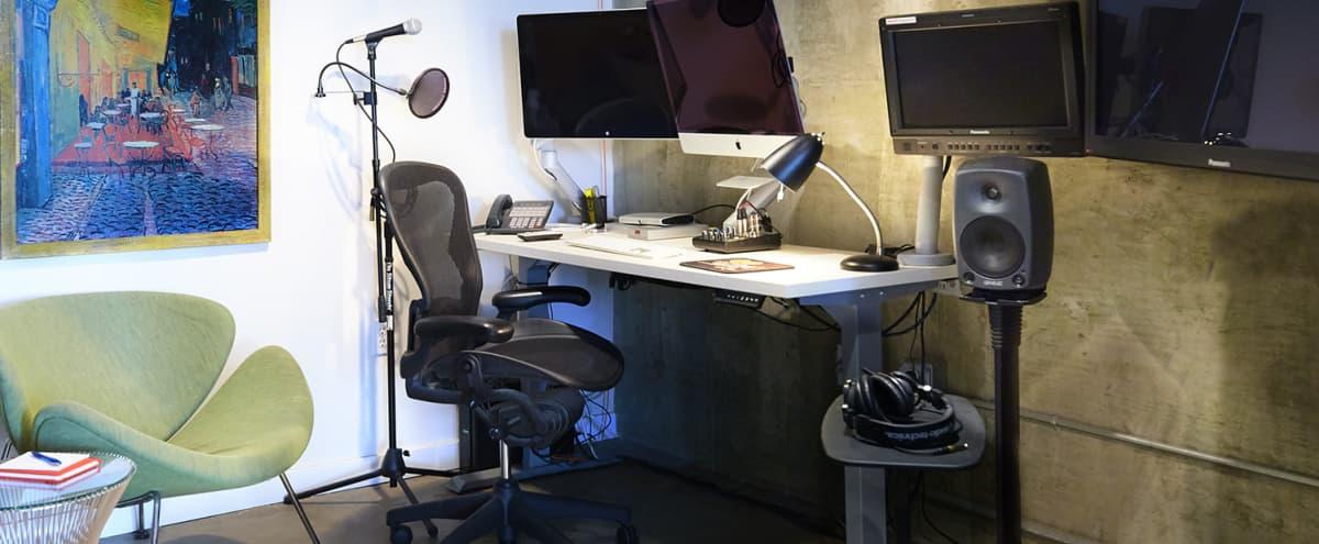 SOMA Loft Edit Suite #1 / Private Work Station in San Francisco Hero Image in SoMa, San Francisco, CA