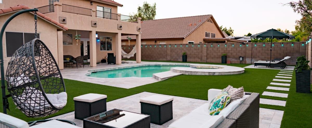Chandler Resort Style Backyard in Chandler Hero Image in undefined, Chandler, AZ