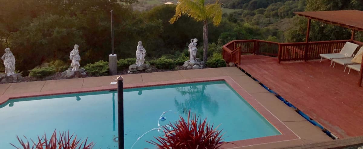 Film/Photo Location: Villa Vivacious with Stunning Views + Pool in Santa Rosa Hero Image in undefined, Santa Rosa, CA